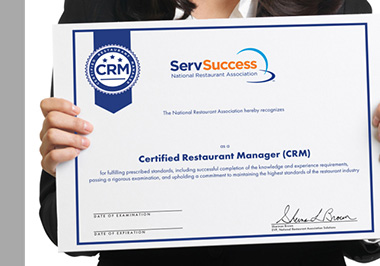 Certified Restaurant Manager